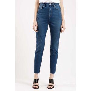 Topshop binx moto jeans